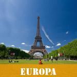 Vælg landeliste for Europa